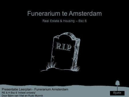 Funerarium te Amsterdam Real Estate & Housing – Bsc 6.