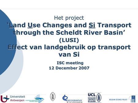 Analyse van veranderend landgebruik ppt download - Paragraaf bassin ...