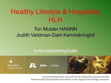 Healthy Lifestyle & Hospitality HLH