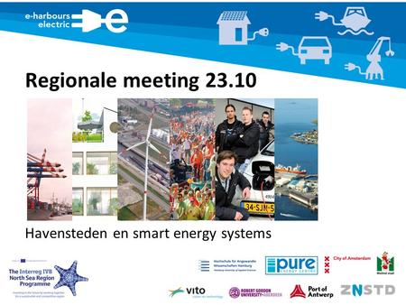 Regionale meeting 23.10 Havensteden en smart energy systems.