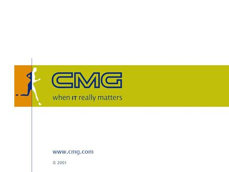 Www.cmg.com © 2001. CMG D-Site Marc van der Steen (CMG business unit e-government) Inne ten Have (Dexus new media)