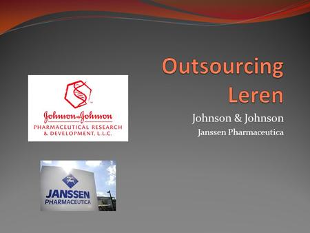 Johnson & Johnson Janssen Pharmaceutica