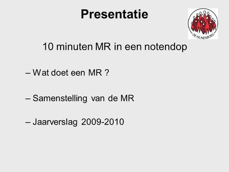 10 minuten MR in een notendop