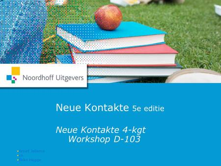 Neue Kontakte 4-kgt Workshop D-103