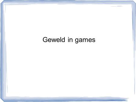 Geweld in games. Introductie Schietincident op de Columbine High School – Littleton in de Amerikaanse staat Colorado op 20 april 1999: dertien slachtoffers.