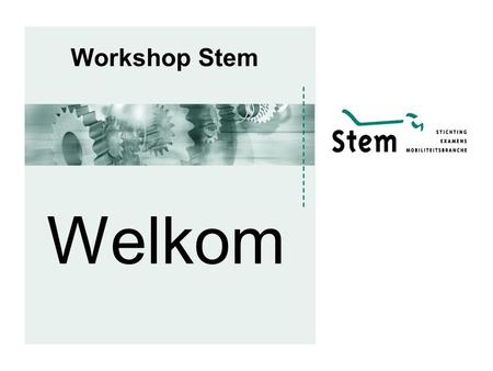Workshop Stem Welkom.