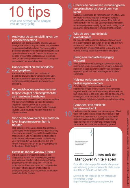 10 tips Lees ook de Manpower White Paper!