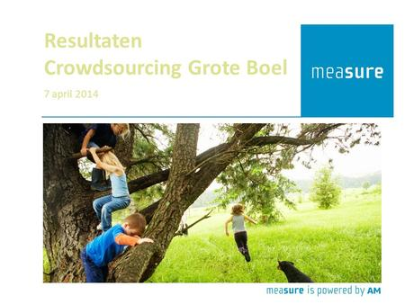 Resultaten Crowdsourcing Grote Boel 7 april 2014.