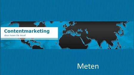 Contentmarketing Meten.