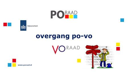 Overgang po-vo www.poraad.nl.