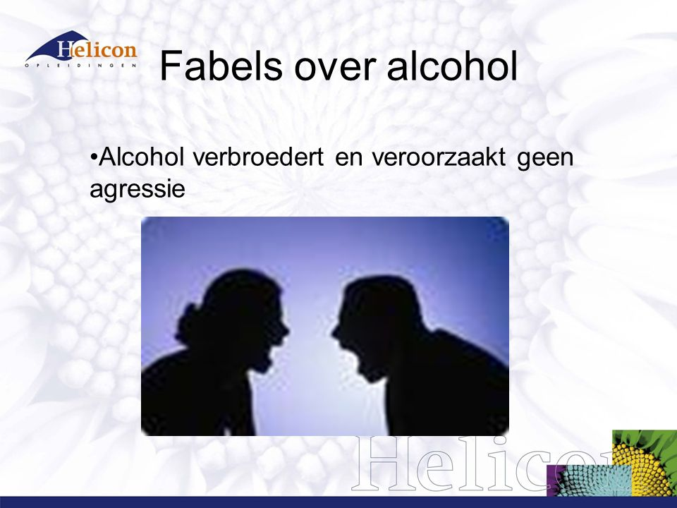 Fabels over alcohol Met alcohol op presteer ik beter