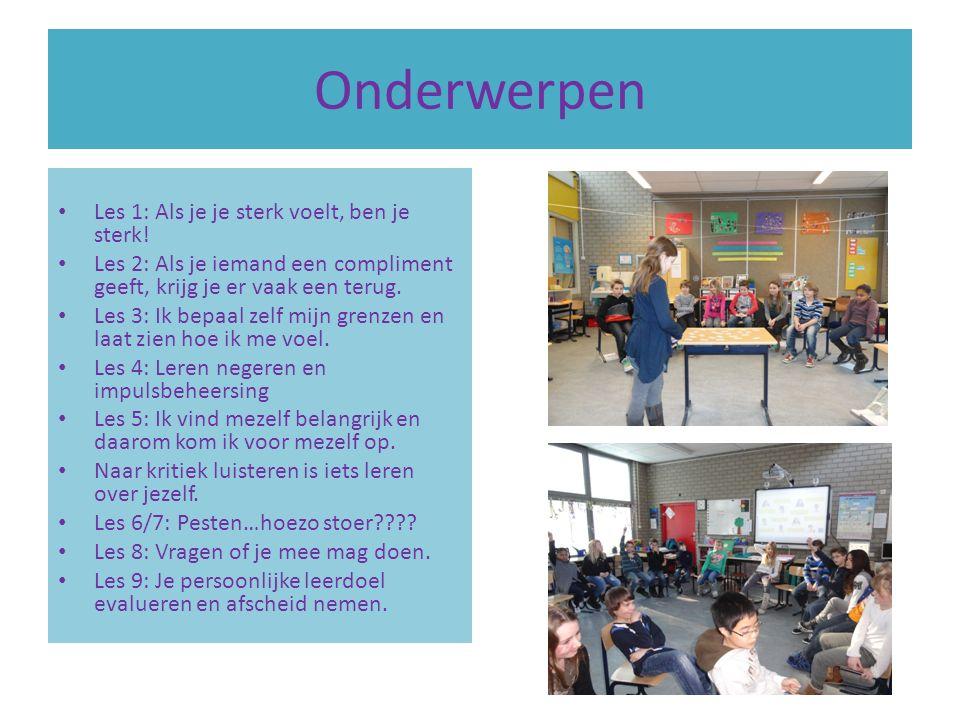 Rots en Water Dit is een psycho-fysieke sociale competentie training voor kinderen van groep 1 t/m 8 en ouder.