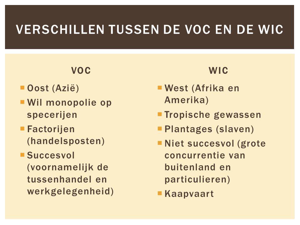 De VOC had bijzondere bevoegdheden: -Eigen leger/oorlog voeren -Eigen forten -Eigen munt -Zelf contracten sluiten