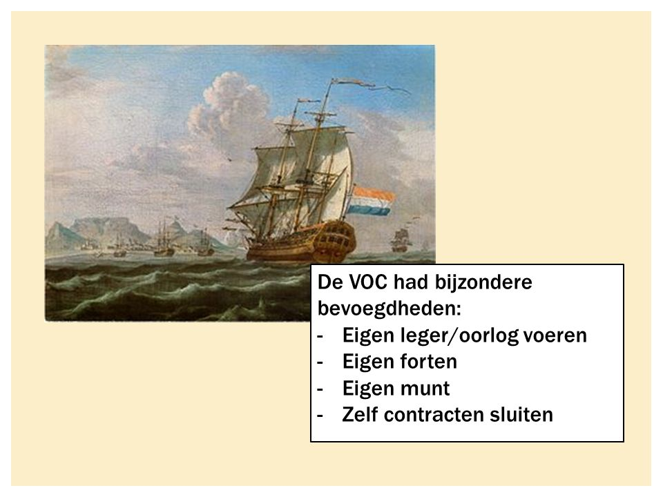  Handel vormde de basis voor het kapitalisme  Investeringen in handel (groei financiële sector)  Door handel groeit ook de nijverheid  Ontstaan stapelmarkten (Amsterdam)  Ontstaan wereldhandel tussen continenten HANDELSKAPITALISME