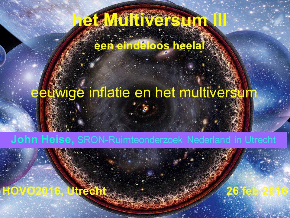 het Multiversum III een eindeloos heelal