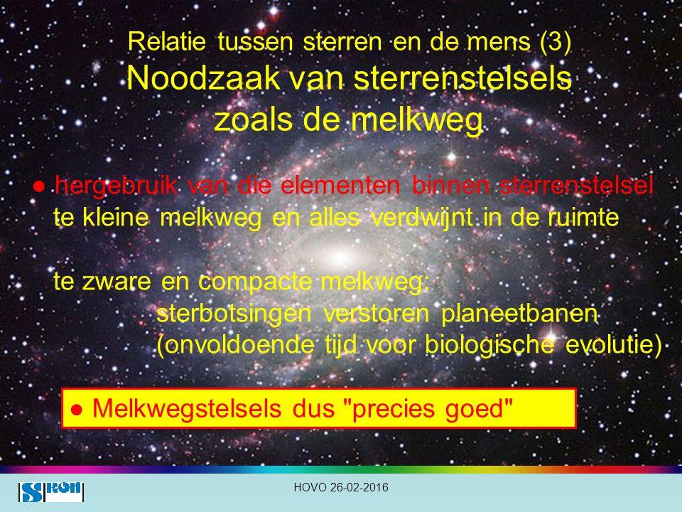 ● hergebruik van die elementen binnen sterrenstelsel