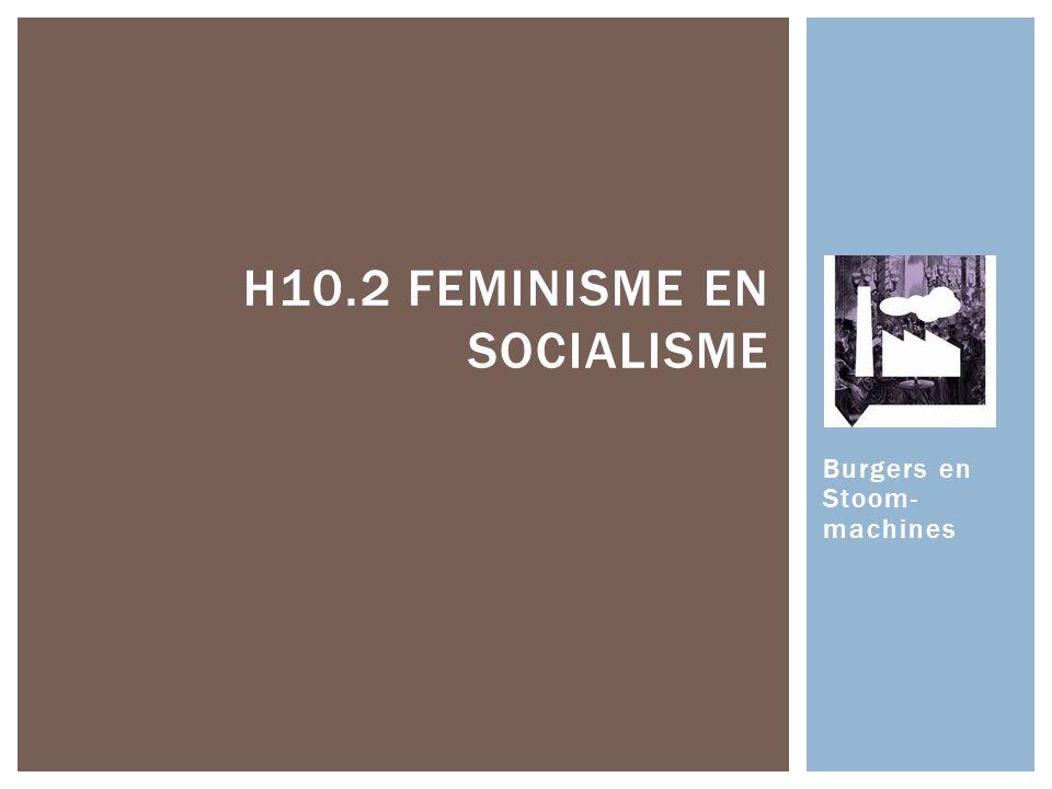 H10.2 Feminisme en socialisme