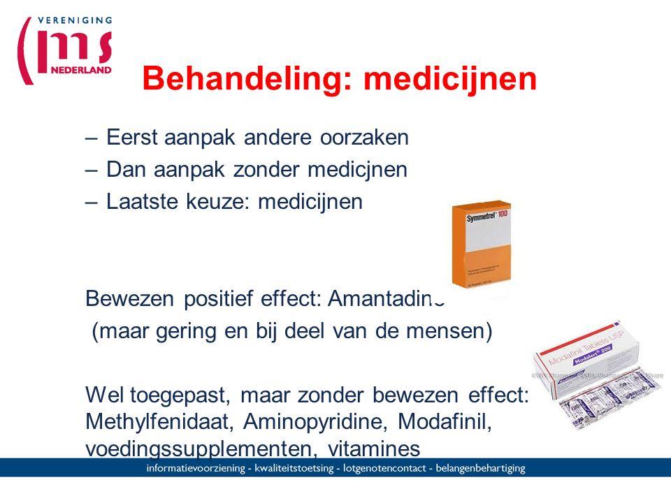 Behandeling: medicijnen