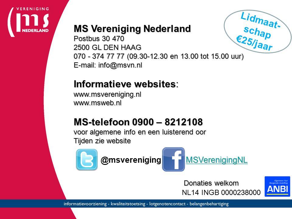 MS Vereniging Nederland