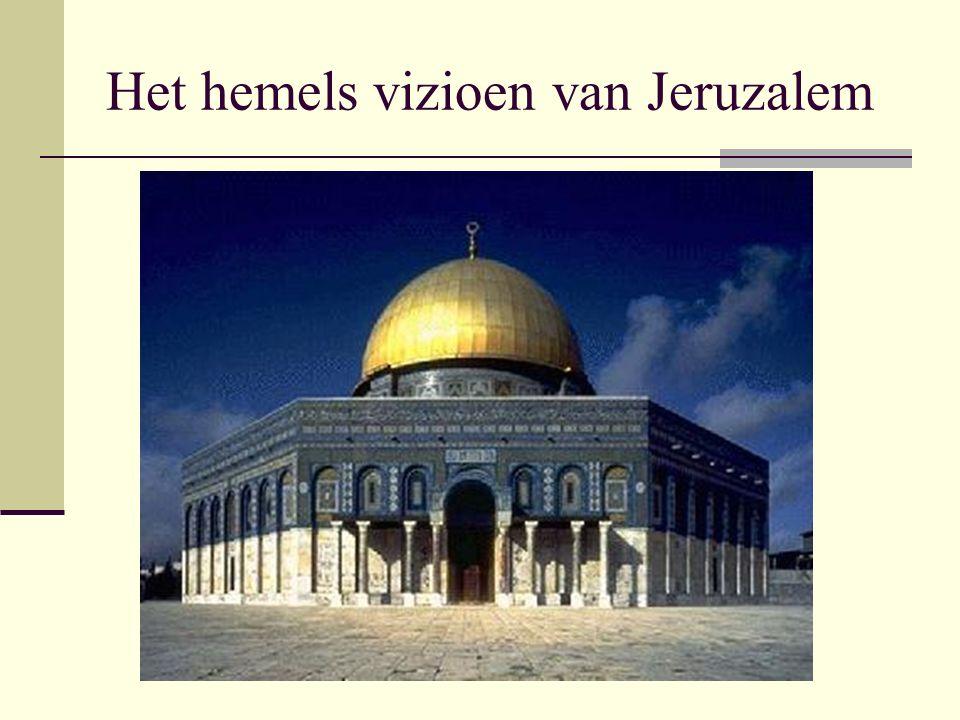 Het hemels vizioen van Jeruzalem