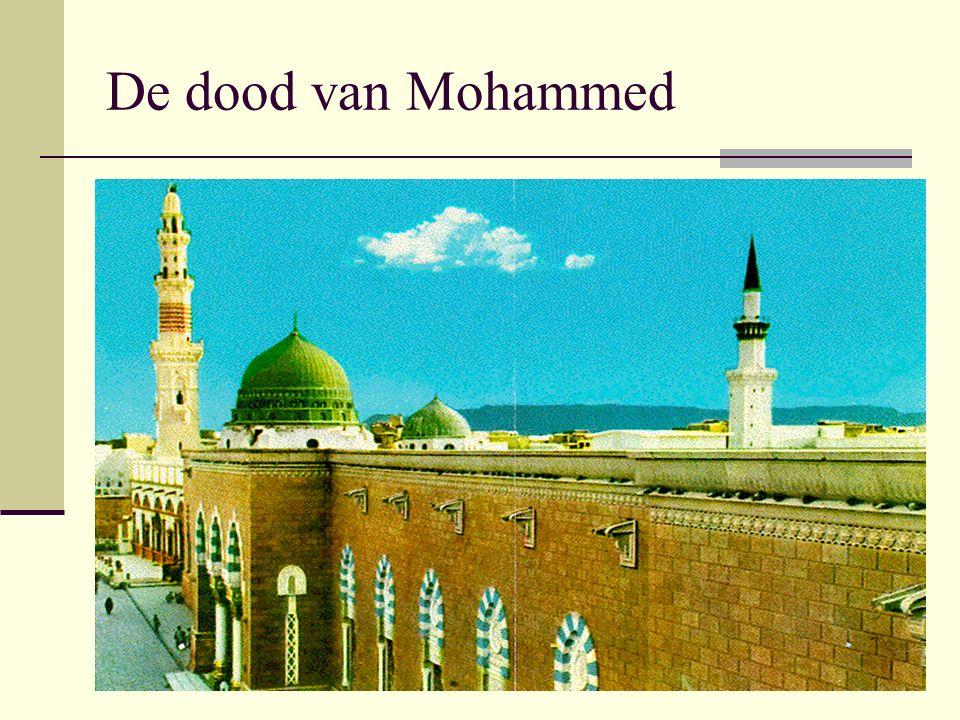 De dood van Mohammed