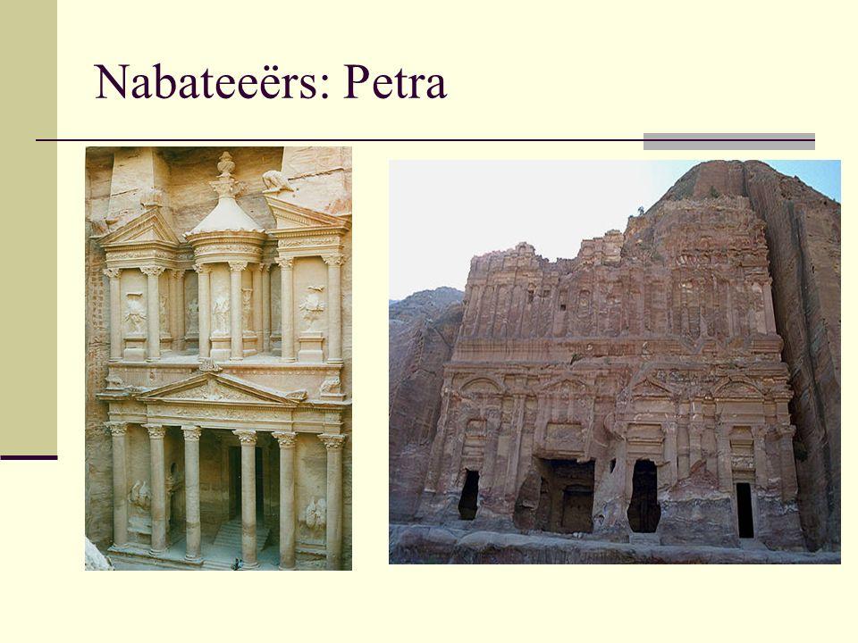 Nabateeërs: Petra