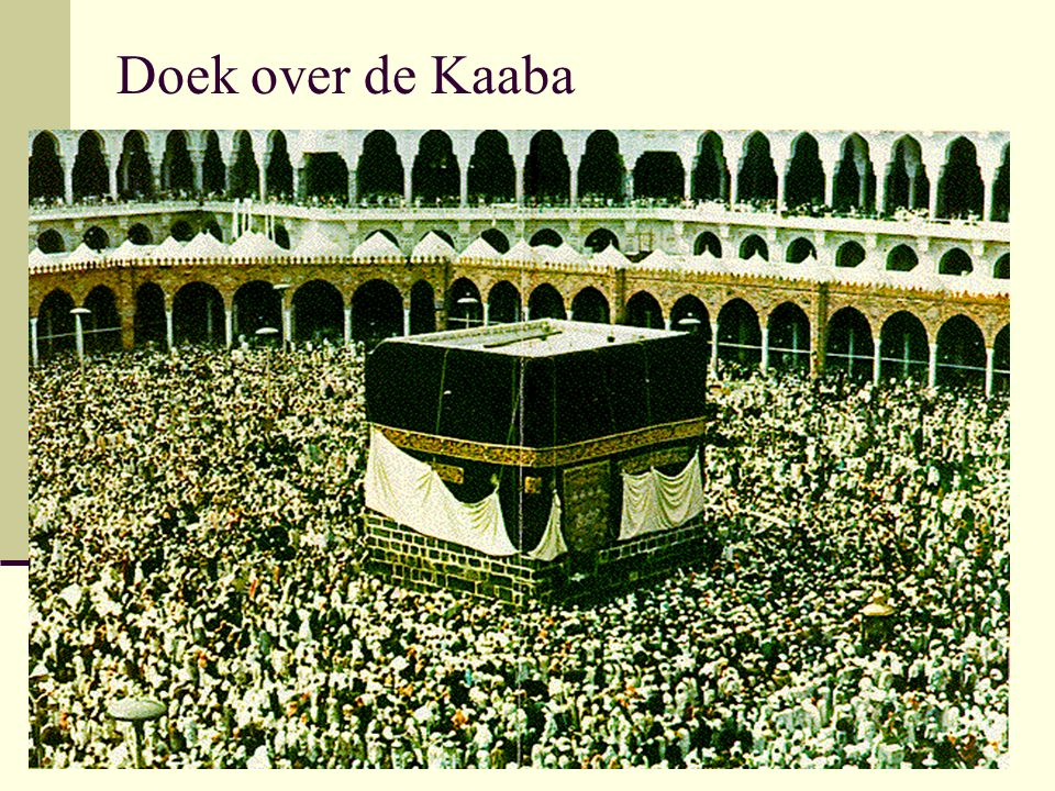 Doek over de Kaaba