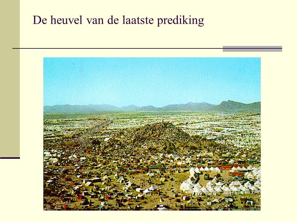 De heuvel van de laatste prediking