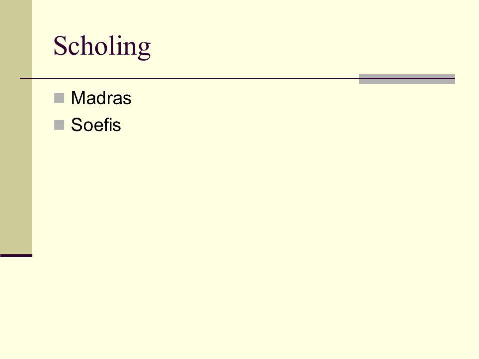 Scholing Madras Soefis