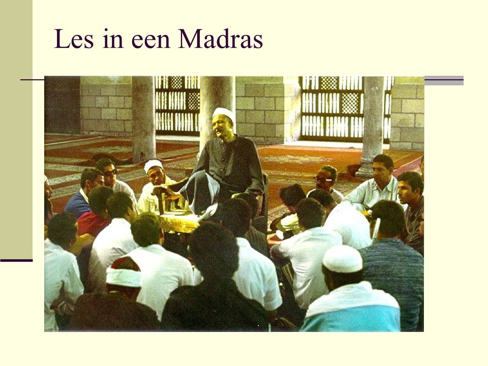 Les in een Madras