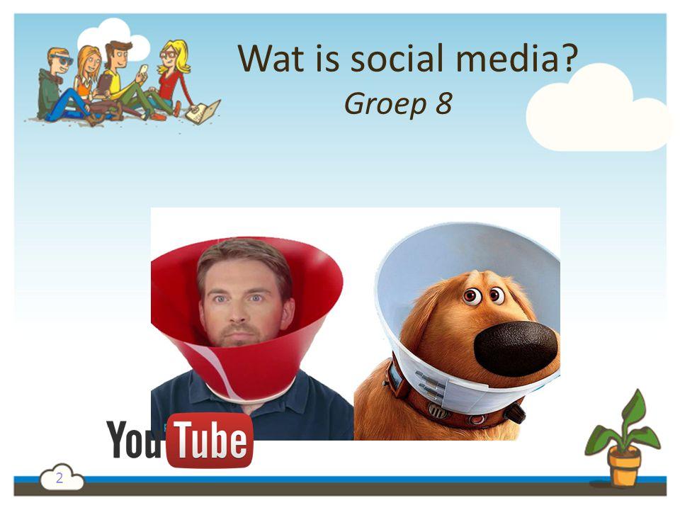 Wat is social media Groep 8