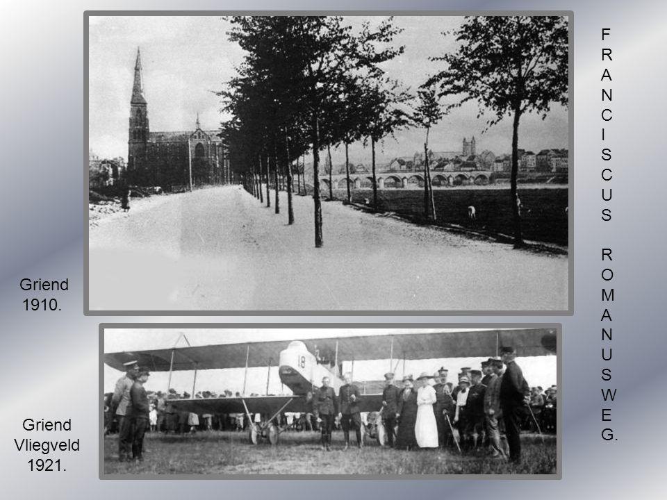 F R A N C I S U O M W E G. Griend 1910. Griend Vliegveld 1921.
