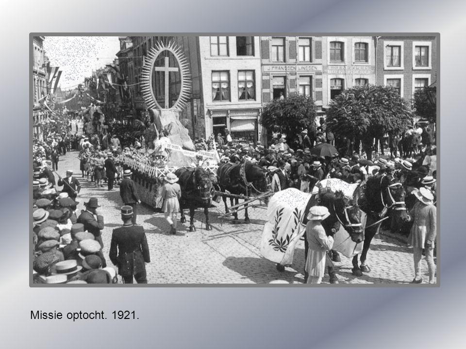 Missie optocht. 1921.