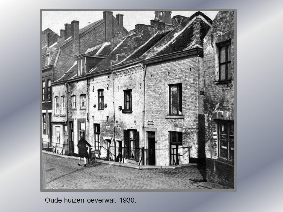 Oude huizen oeverwal. 1930.