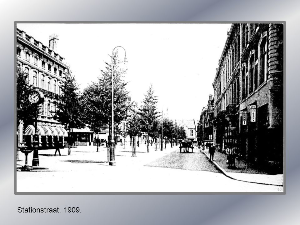 Stationstraat. 1909.