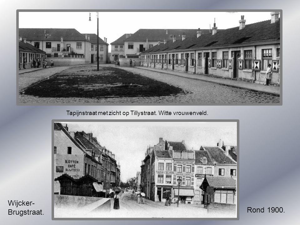 Wijcker- Brugstraat. Rond 1900.