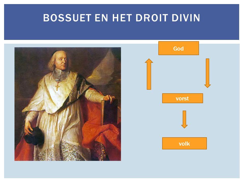 Bossuet en het Droit Divin