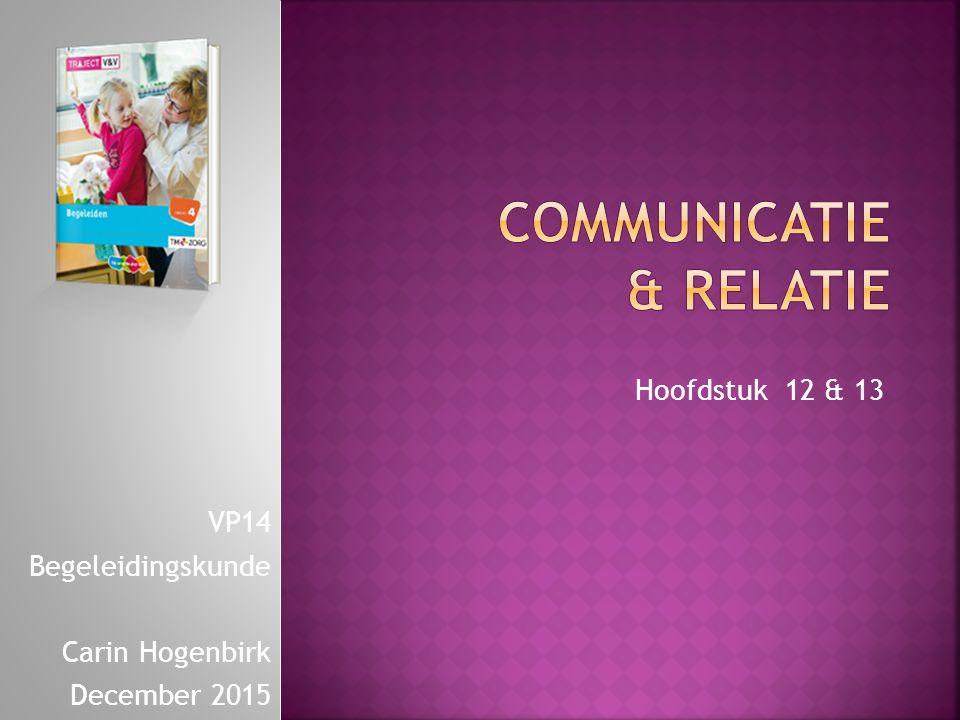 Communicatie & Relatie