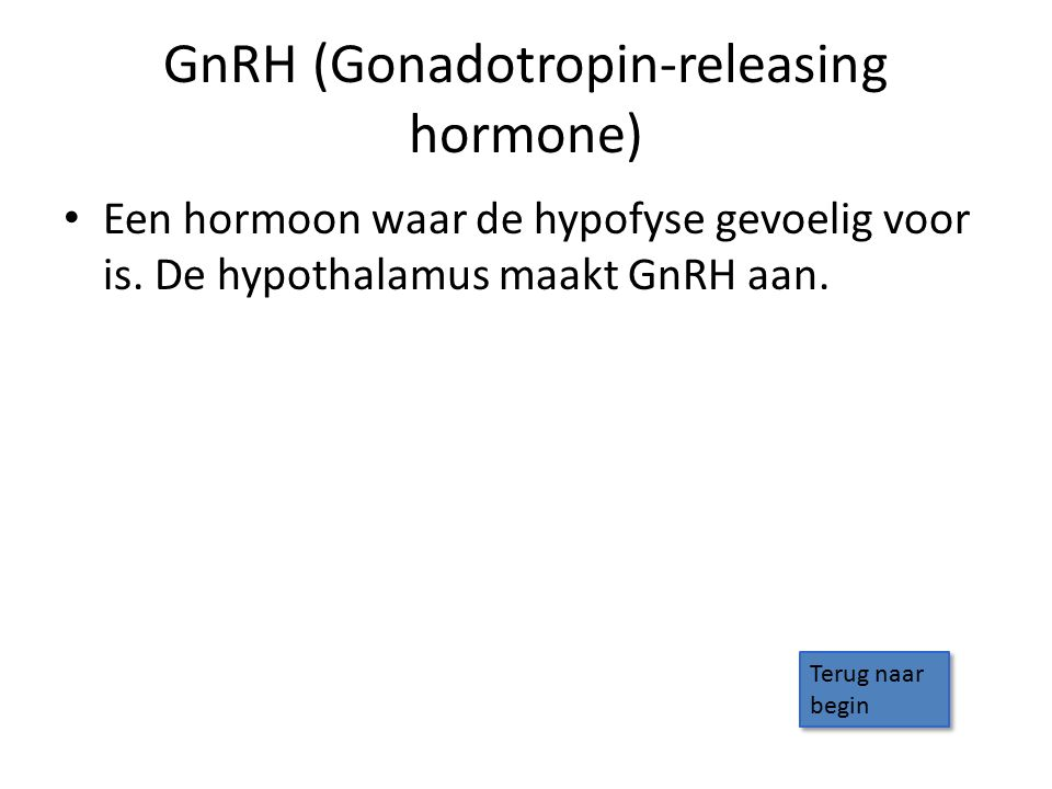 GnRH (Gonadotropin-releasing hormone)