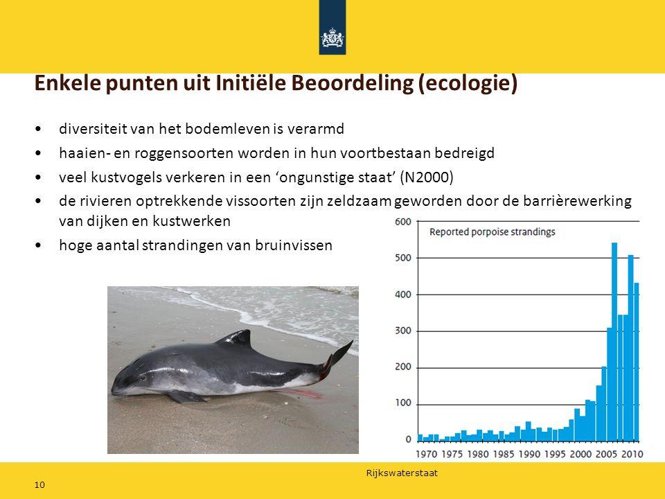 Enkele punten uit Initiële Beoordeling (ecologie)