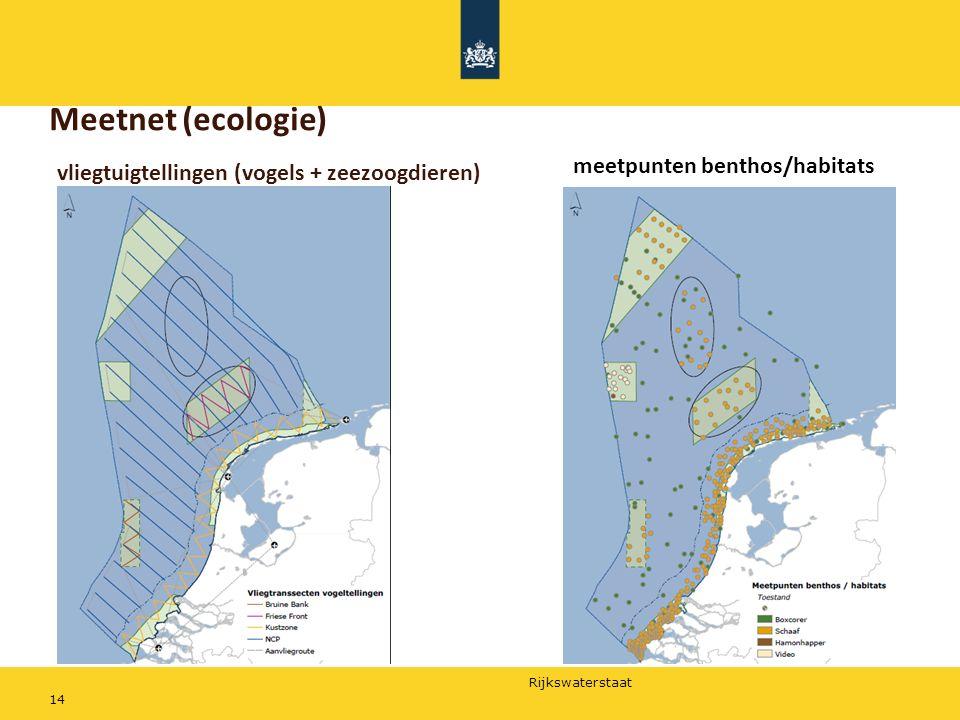 Meetnet (ecologie) meetpunten benthos/habitats
