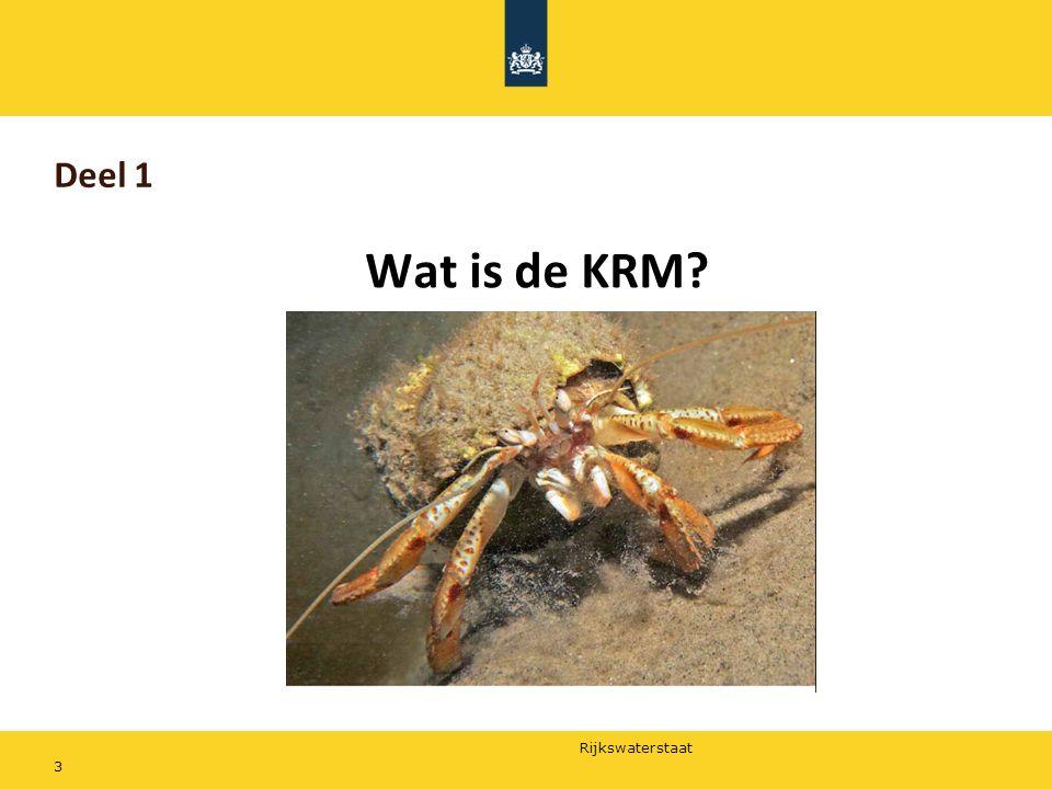 Deel 1 Wat is de KRM