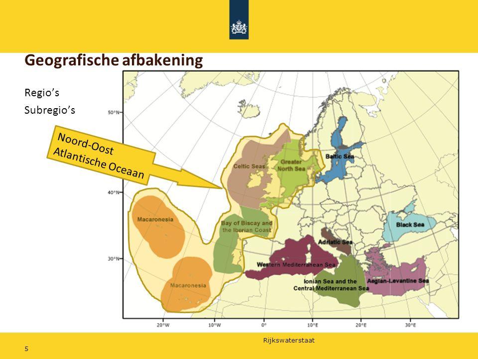Geografische afbakening