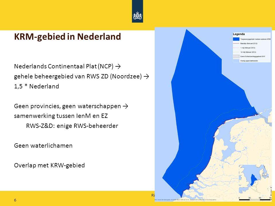 KRM-gebied in Nederland