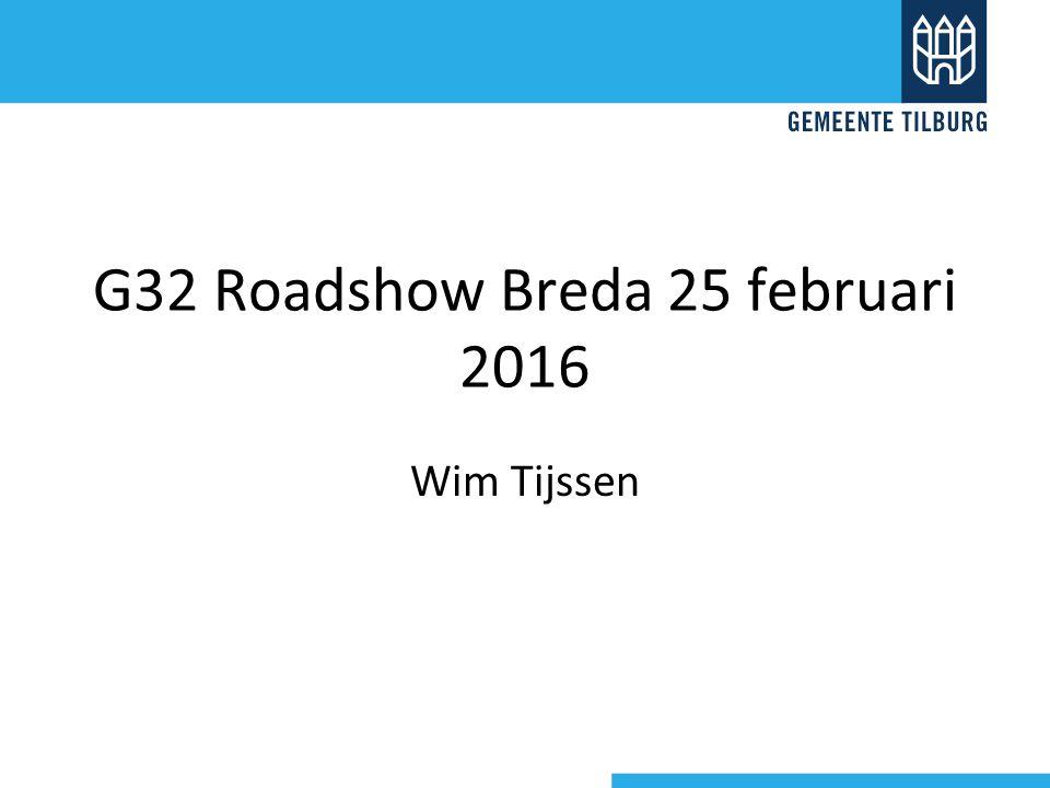 G32 Roadshow Breda 25 februari 2016