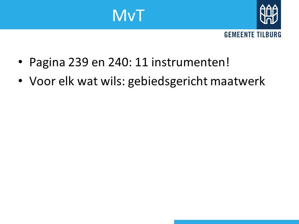 MvT Pagina 239 en 240: 11 instrumenten!