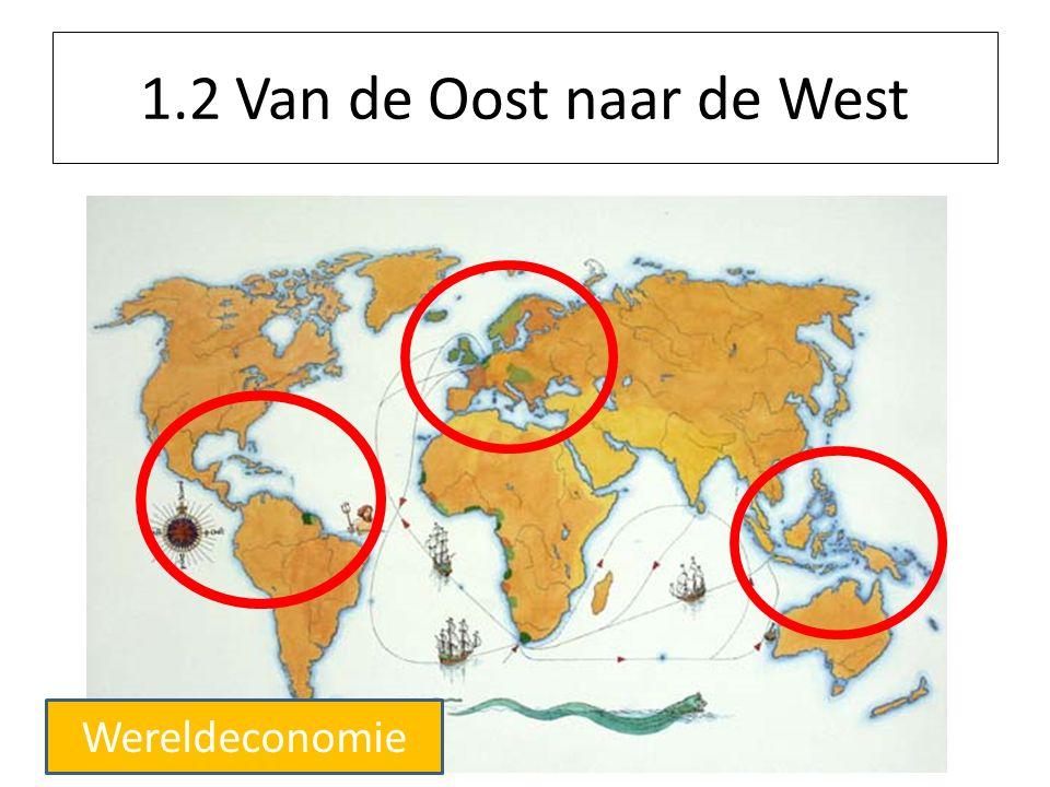 1.2 Van de Oost naar de West Wereldeconomie