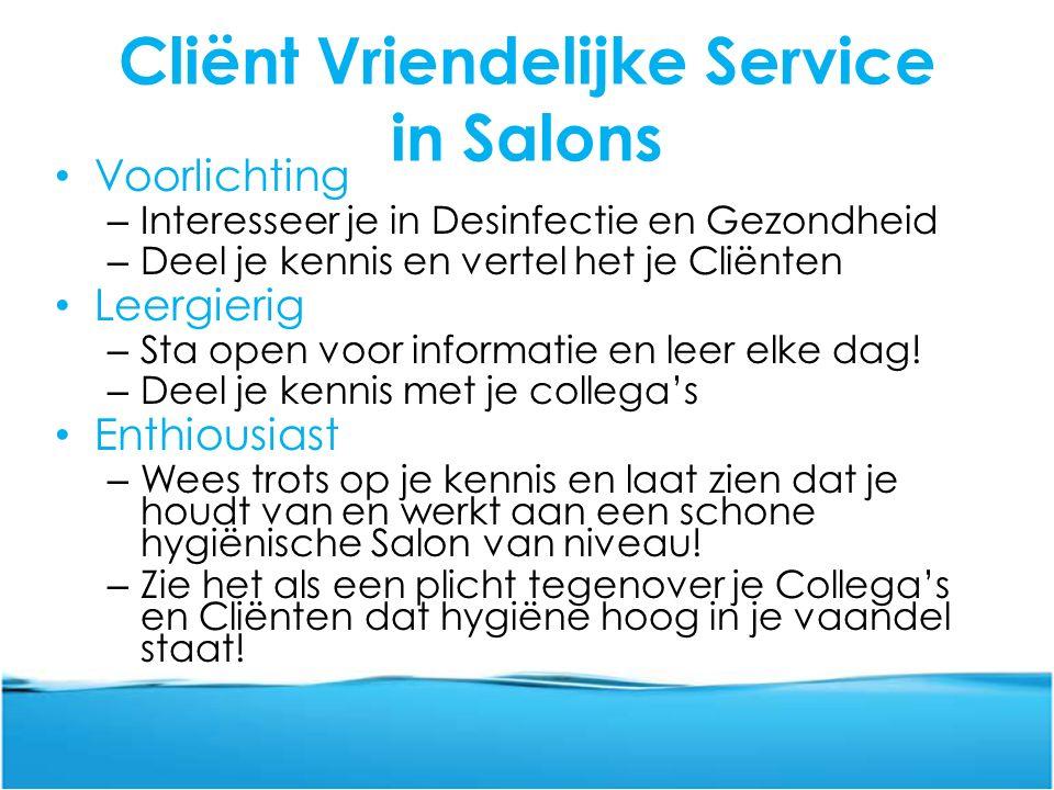 Cliënt Vriendelijke Service in Salons