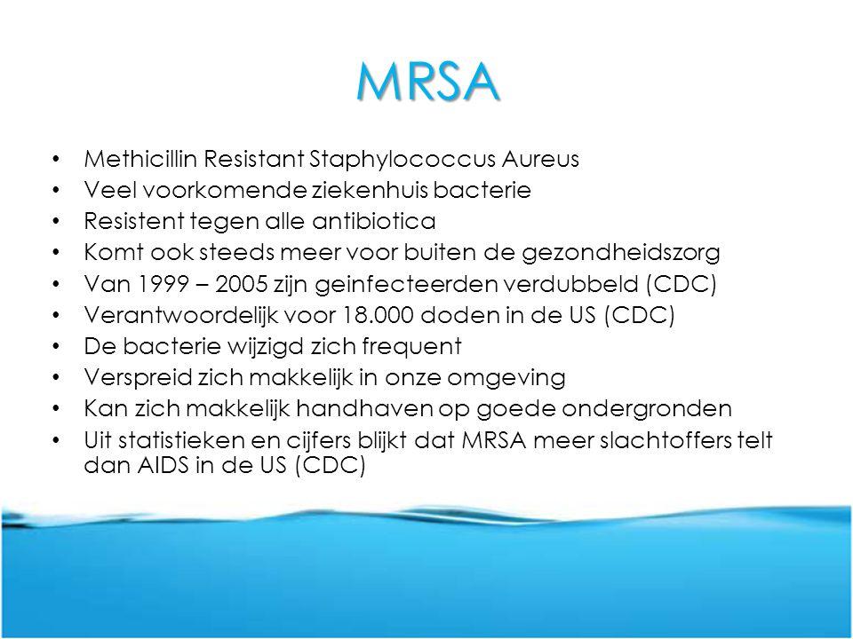 MRSA Methicillin Resistant Staphylococcus Aureus