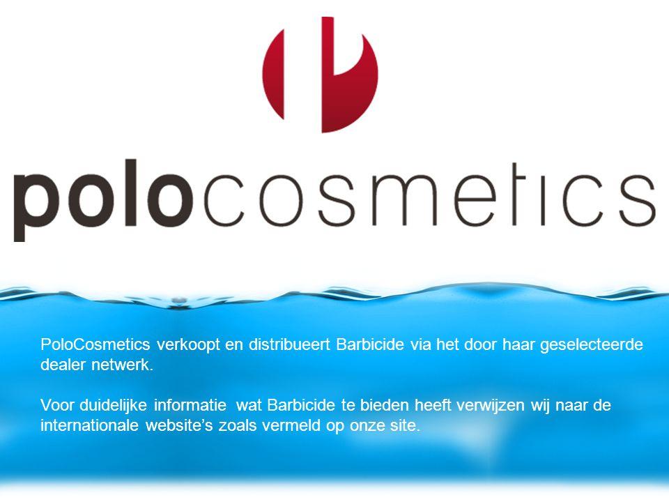 PoloCosmetics verkoopt en distribueert Barbicide via het door haar geselecteerde dealer netwerk.